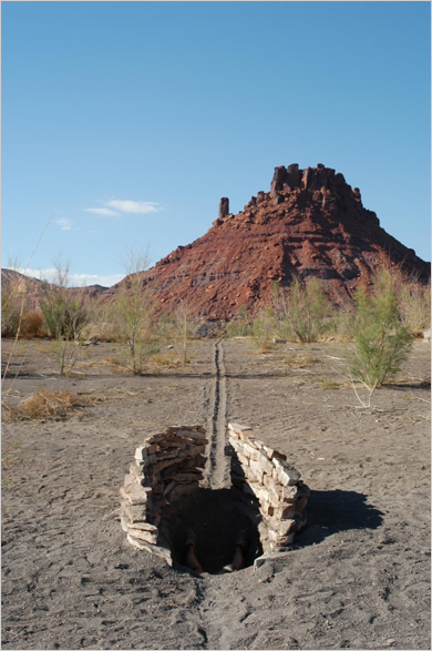 Land Arts of the American West - image from Field page of The Art section